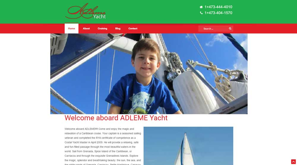 Yachting Website